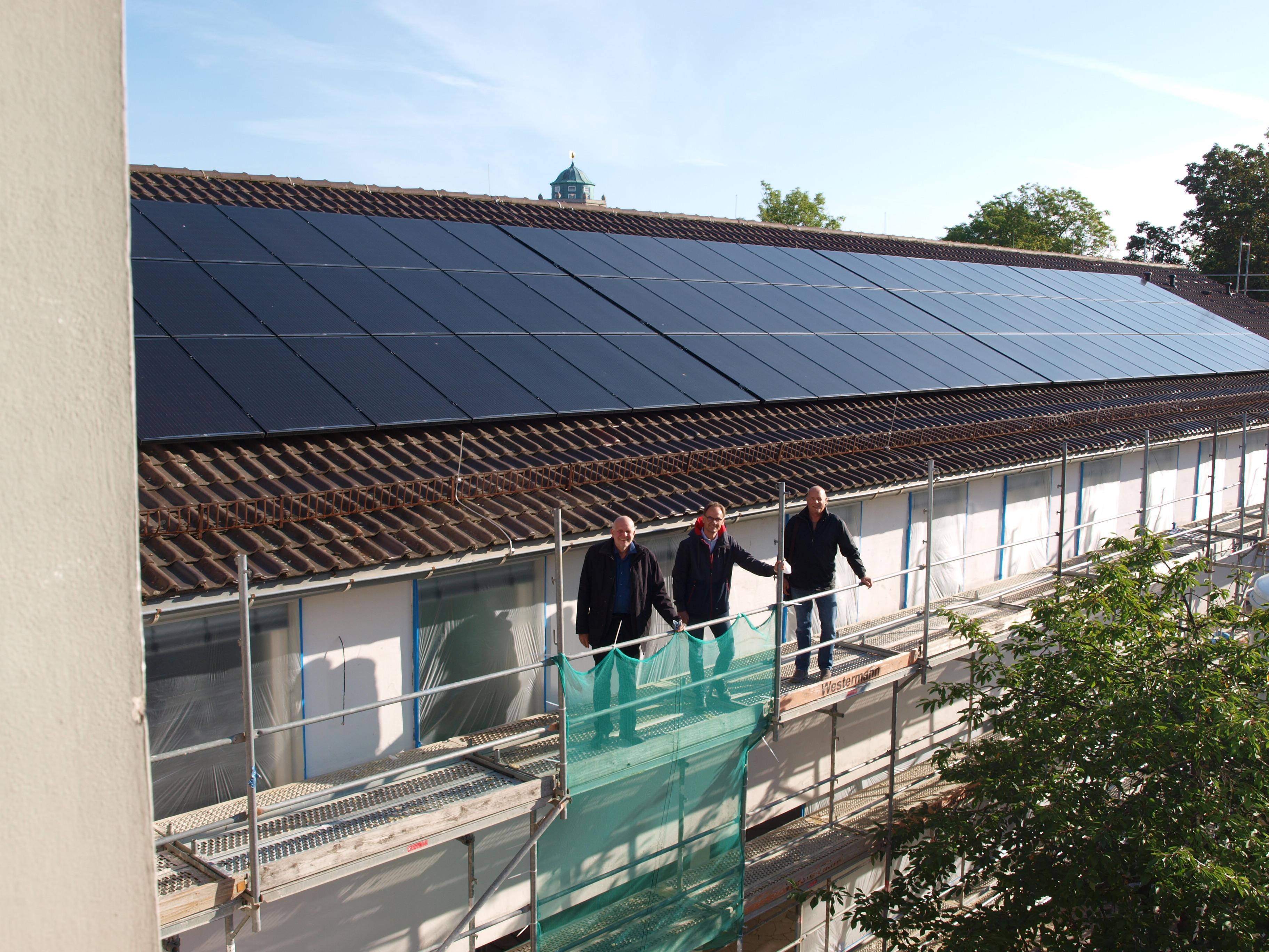 Photovoltaik-Ausbau auf Kasseler Schulen geht weiter
